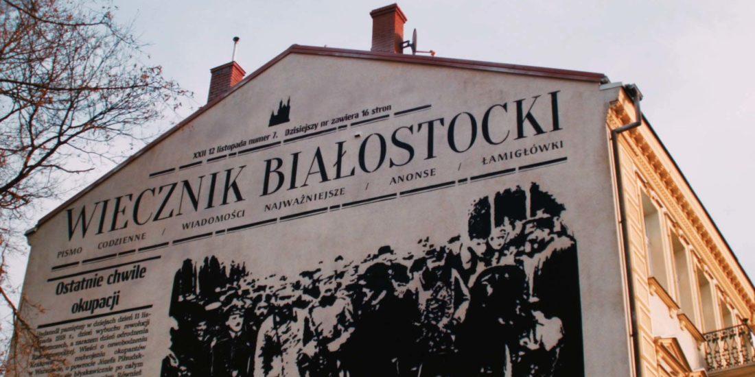 Mural: Wiecznik Białostocki